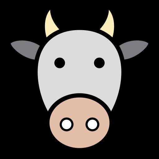 animal, cow, cows, icon, milk, vaca icon