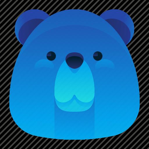 Animal, bear, forest, wild, wildlife icon - Download on Iconfinder