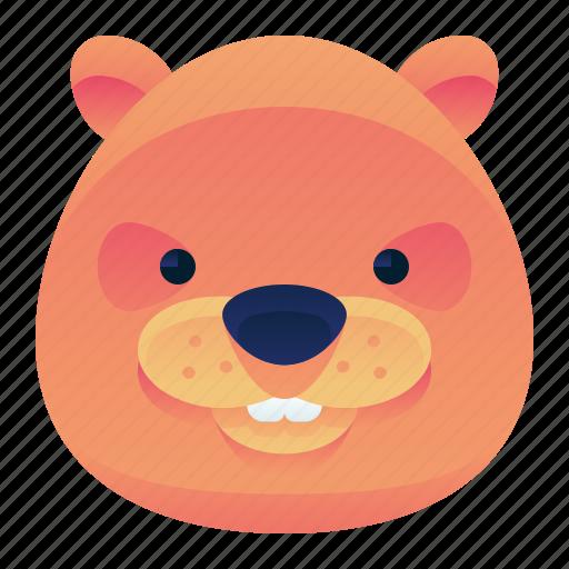 animal, beaver, river, wild, wildlife icon