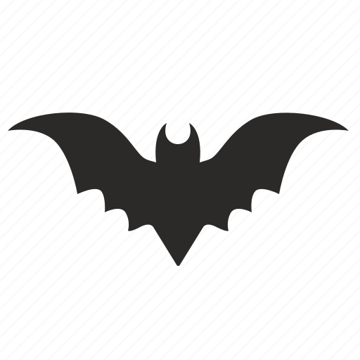 bat, fly, halloween, wings icon