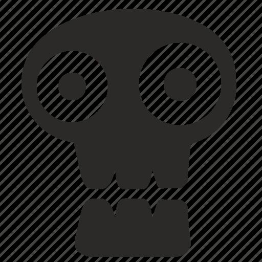 dead, face, halloween, head, skull icon