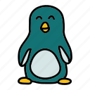animals, cold, north, penguin, snow, winter icon