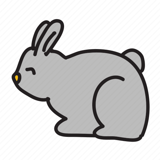 animals, breed, cute, fast, hole, rabbit icon