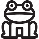 animal, animals, food, frog, mammal, pet, zoo icon