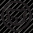 animal, animals, lion, mammal, pet, pets, zoo icon