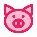 animal, farm, farming, pig, piggy, pork icon