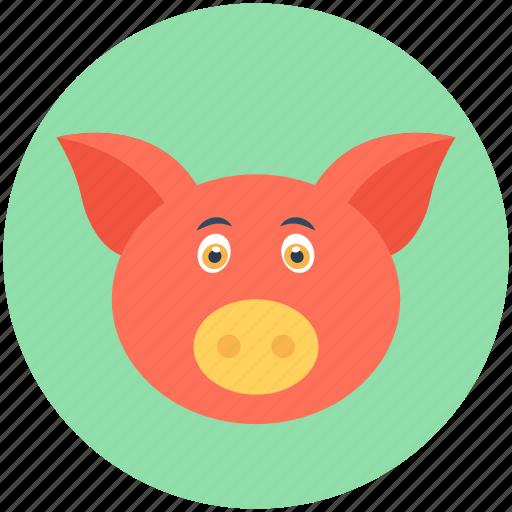 Animal, mammal, pig, tapir, wild boar icon - Download on Iconfinder