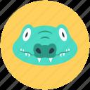 crocodile, crocodylidae, large reptile, lizard, wildlife