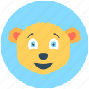 animal, bear, mammal, wild animal, zoo icon