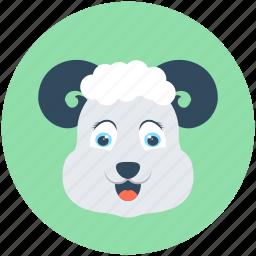 animal, ewe, farm animal, lamb, sheep icon