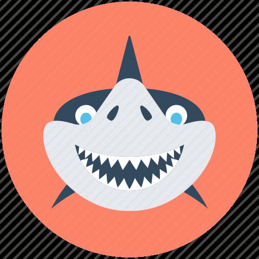 animal, marine mammal, shark, whale, whale shark icon