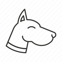 animal, dog, doggy, friend, friendly, pet icon