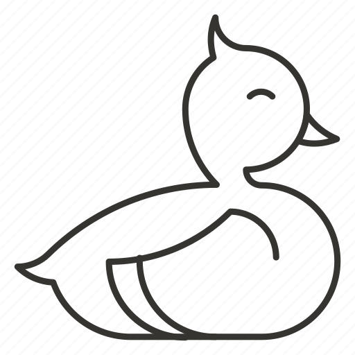animal, bath, bird, duck, lake icon