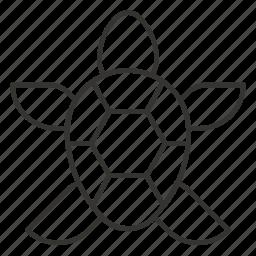 animal, reptile, sea, tortoise, turtle icon