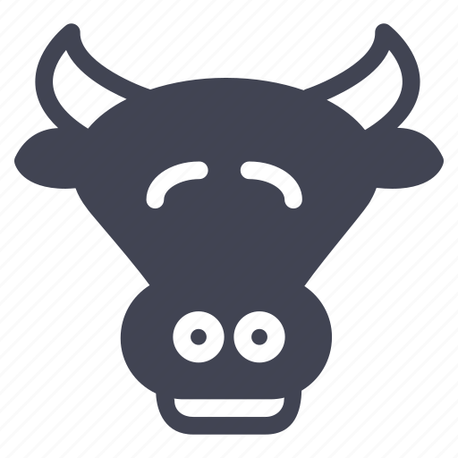 agriculture, animal, animals, cattle, cow, farm icon