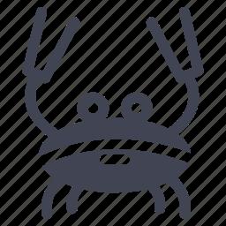 animal, animals, crab, nature, ocean icon