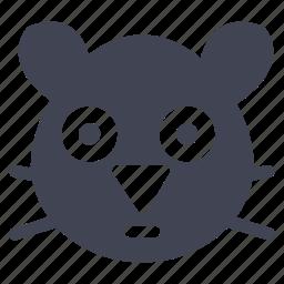 animal, animals, hamster, nature, pet icon