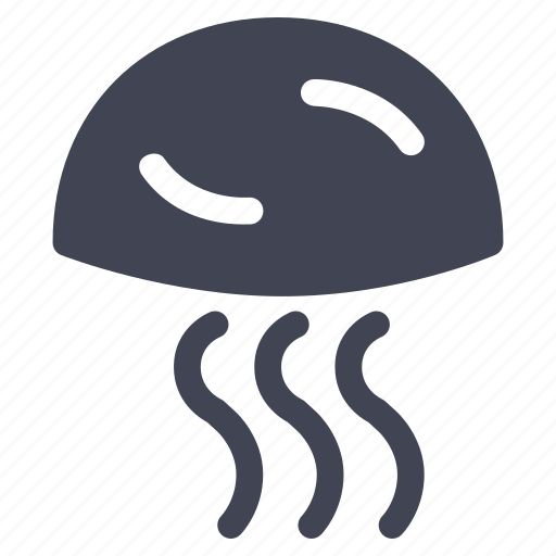 animal, jellyfish, marine, nautical, ocean, sea icon