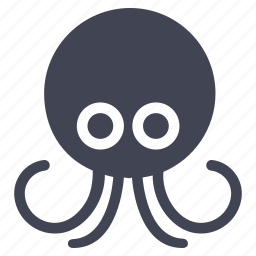 marine, nautical, ocean, octopus, sea, seafood icon