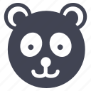 animal, animals, bear, nature, panda, teddy icon