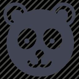 animal, animals, bear, nature, panda, teddy icon