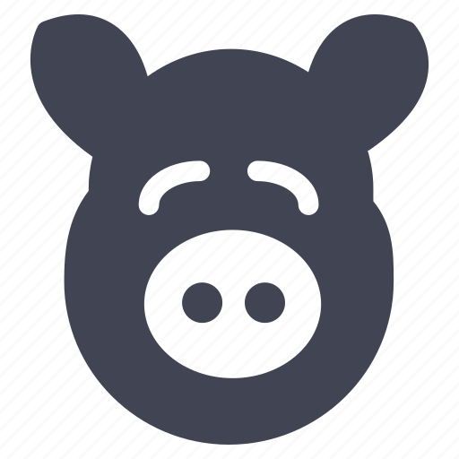 animal, animals, farm, pig, piggy icon