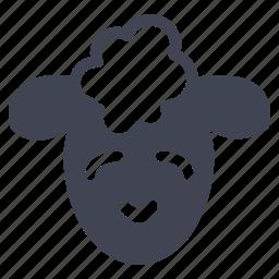 animal, animals, cute, lamb, sheep icon