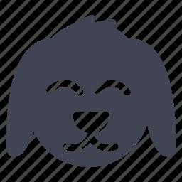 animal, animals, dog, pet, rabbit icon