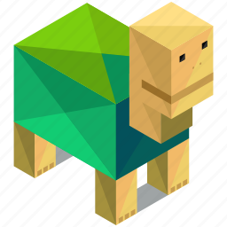 animal, animals, ecology, nature, pet, slow, turtle icon