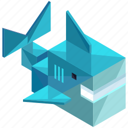 animal, ecology, nature, nautical, ocean, sea, shark icon
