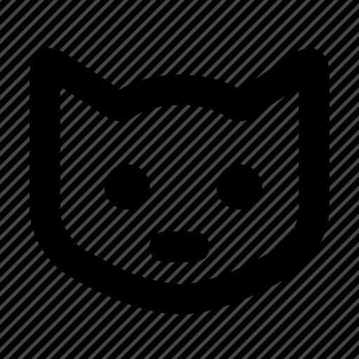 animal, animals, cat, farm, kitty, pet icon