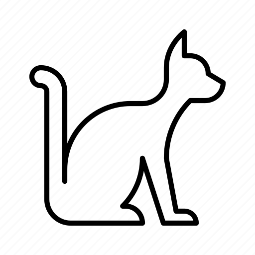 animal, cat, face, kitty, pet icon
