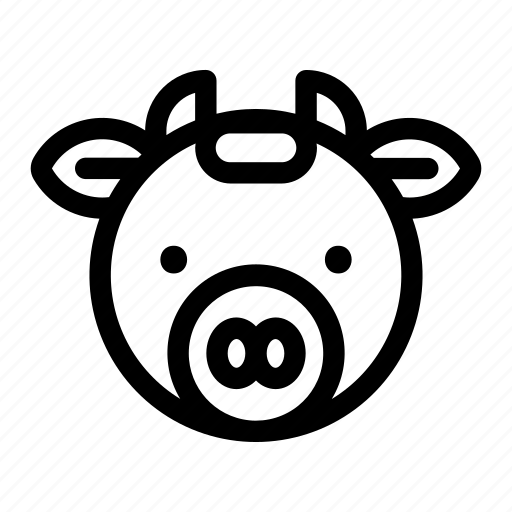 Animal, cow, farm, agriculture icon - Download on Iconfinder