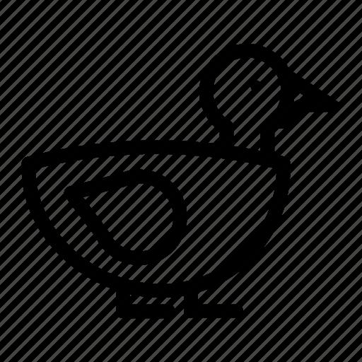 Duck, animal, bird, nature icon - Download on Iconfinder