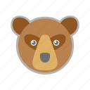 bear, forest, wild, zoo icon