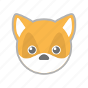 forest, fox, wild, zoo icon