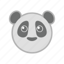 eco, panda, zoo icon