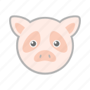 farm, pet, pig icon