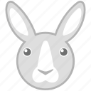 farm, hare, pet, rabbit icon