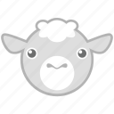 farm, pet, sheep icon