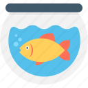 animal, aquarium, fish, fishtank, goldfish icon