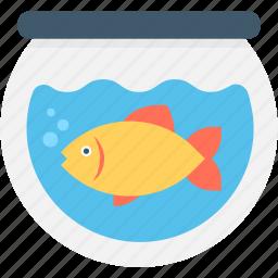animal, aquarium, fish, fishtank, goldfish icon