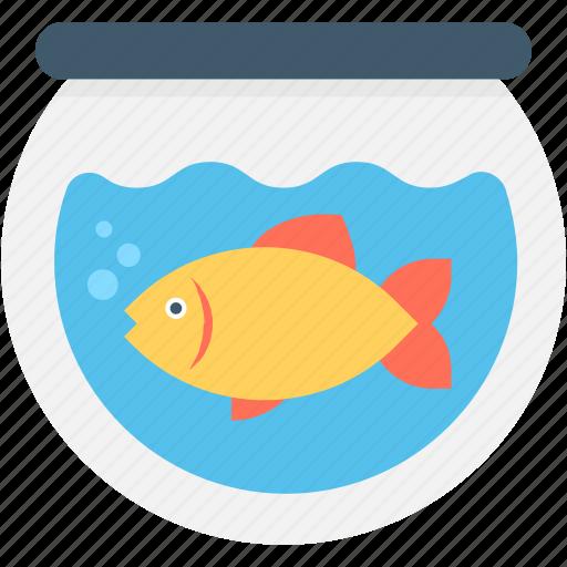 Goldfish, fish, aquarium, fishtank, animal icon