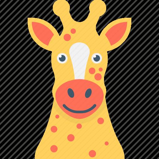 animal, camelopard, giraffe, largest ruminant, mammal icon