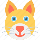 abyssinian, cat, coon, feline, siamese icon
