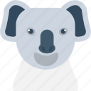 animal, koala, koala bear, wallaroo, wombat icon