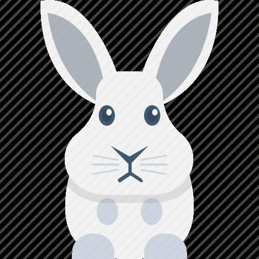 bunny face, pet, rabbit, rabbit face, wildlife icon