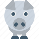 animal, mammal, pig, tapir, wild boar icon