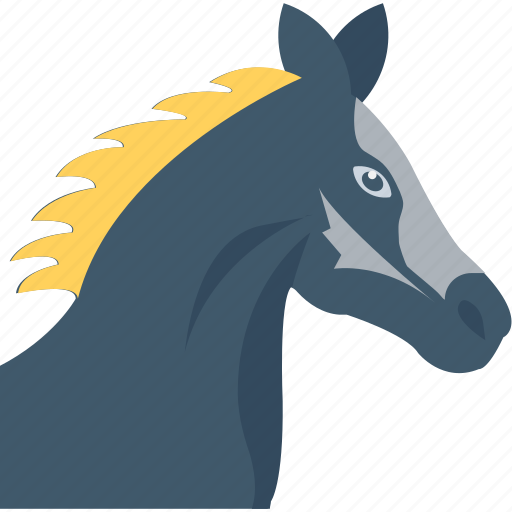 animal, bronco, colt, horse, mare icon