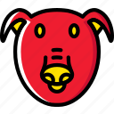 animal, pet, pig, wild icon